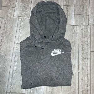 Nike Women's Heather Fleece Hooded Pullover